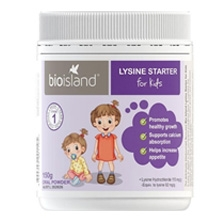 Bio Island Lysine Starter for Kids 150g Oral Powder Bột tăng chiều cao Bio Island Lysine Starter for Kids 150g Oral