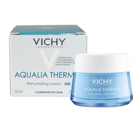 Gel Dưỡng Ẩm Vichy Aqualia Themal Rehydrating Cream - 15ml