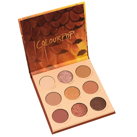 Bảng Phấn Mắt Colourpop Night Owl Pressed Powder Palette - 9 Ô