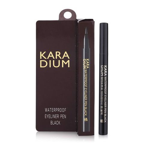 Kẻ Mắt Karadium Waterproof Eyeliner Pen Black