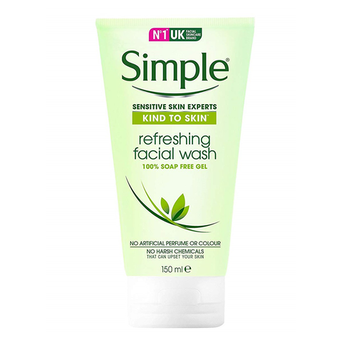 Gel Rửa Mặt Simple Kind to Kind Refreshing Facial Wash - 150ml