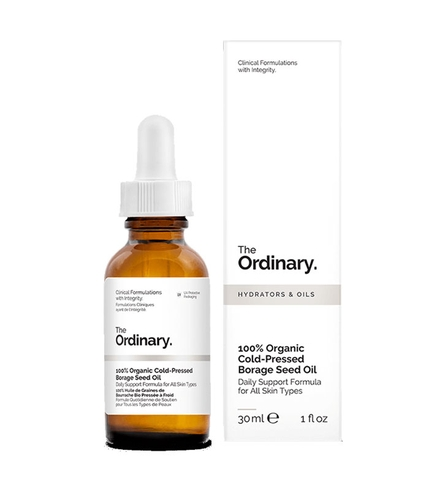 Tinh Chất The Ordinary 100% Organic Cold-Pressed Borage Seed Oil - 30ml