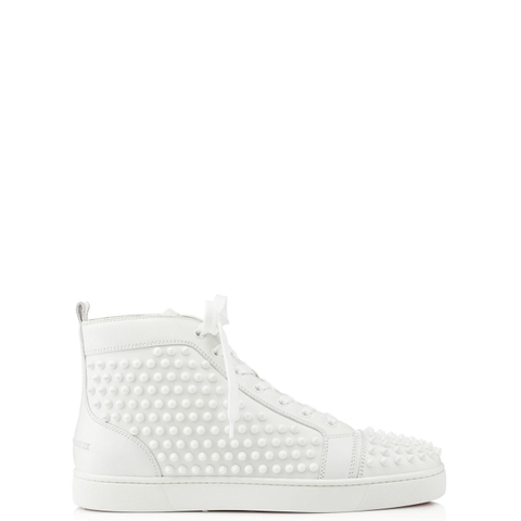 GIÀY CHRISTIAN LOUBOUTIN LOUIS SPIKES WHITE