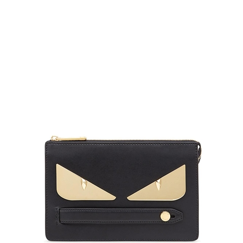 TÚI CLUTCH FENDI BAG BUGS GOLD