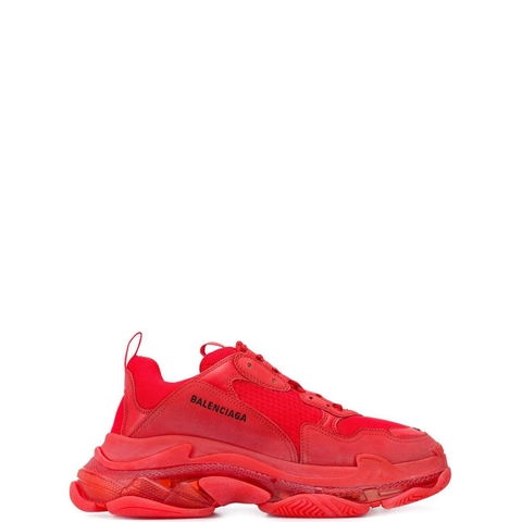 GIÀY BALENCIAGA RED TRIPLE S CLEAR SOLE