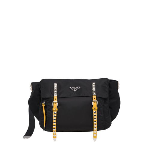 TÚI BELT BAG PRADA STUDDED