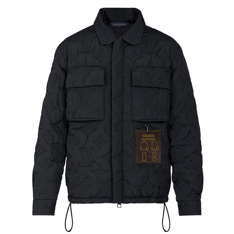 ÁO KHOÁC LOUIS VUITTON MONOGRAM PADDED LIGHT BLOUSON