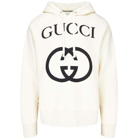 ÁO HOODIE GUCCI WITH INTERLOCKING G
