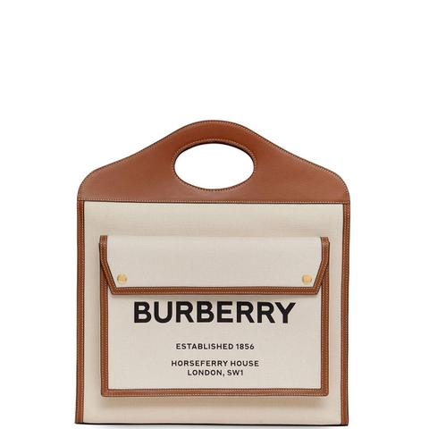 TÚI BURBERRY TWO TONE POCKET
