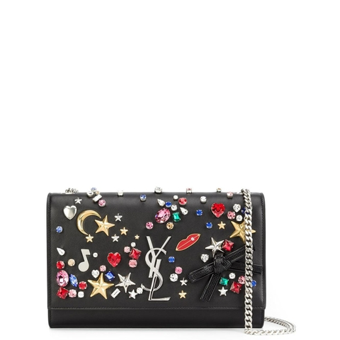 TÚI SAINT LAURENT MONOGRAM EMBELLISHED