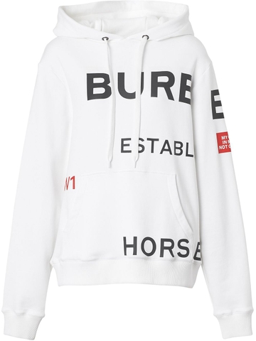 ÁO HOODIE BURBERRY HORSEFERRY PRINTED CHUẨN 1:1 AUTHENTIC
