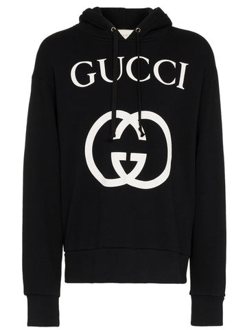 ÁO HOODIE GUCCI WITH INTERLOCKING G CHUẨN 1:1 AUTHENTIC