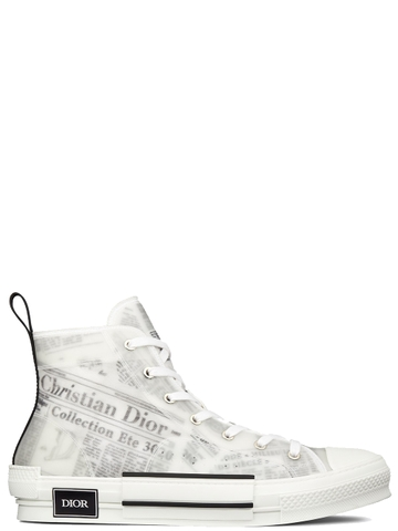 GIÀY DIOR B23 WITH NEWSPAPER HI-TOP SNEAKER CHUẨN 1:1 AUTHENTIC