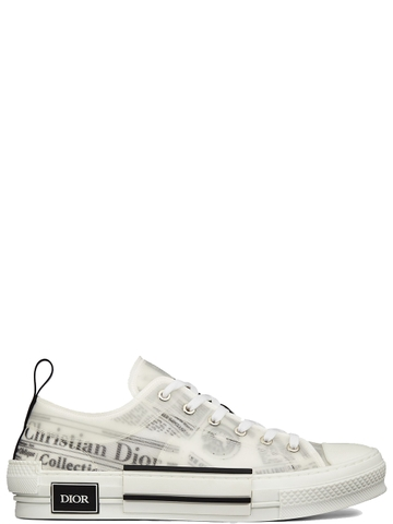 GIÀY DIOR B23 WITH NEWSPAPER LOW-TOP SNEAKER CHUẨN 1:1 AUTHENTIC