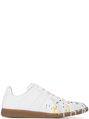 GIÀY MAISON MARGIELA REPLICA PAINT EFFECT SNEAKERS CHUẨN 1:1 AUTHENTIC