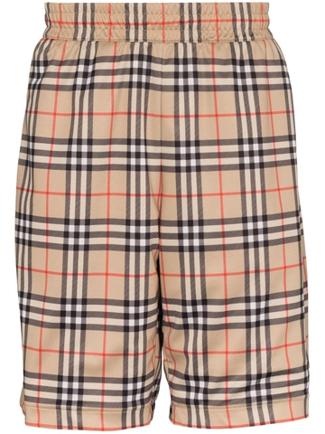 QUẦN SHORT BURBERRY CHECK PRINT