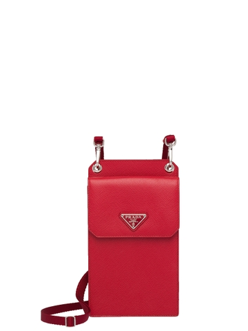 TÚI PRADA SAFFIANO LEATHER SMARTPHONE CASE CHUẨN 1:1 AUTHENTIC