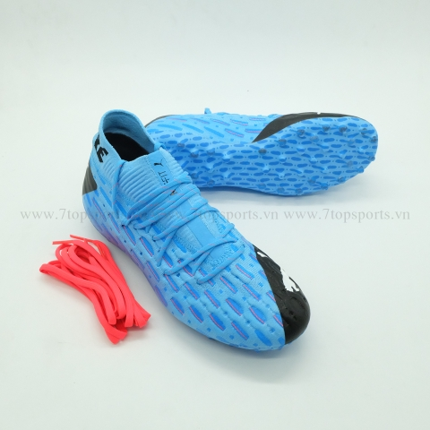 Puma Future 5.1 Netfit MG – Luminous Blue/Black/Pink Alert 105790 01