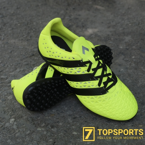 Adidas ACE 16.3 TF - Yellow/Black/Metallic S31960