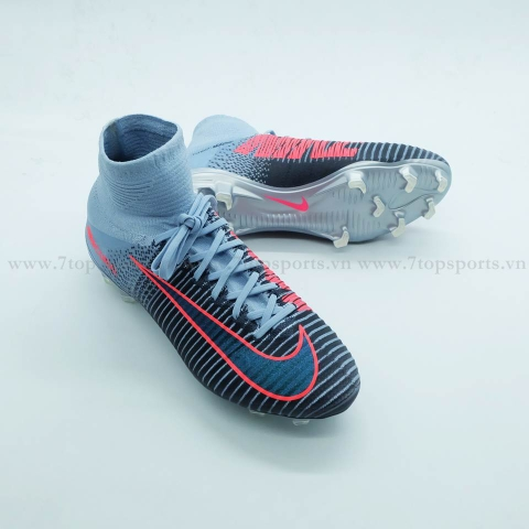 Nike Mercurial Superfly V FG – Grey/Pink/Metallic 831940 400