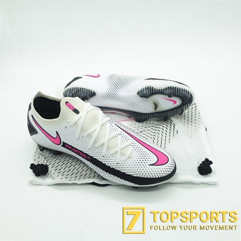 Nike Phantom GT Elite FG - White/Black/Pink Blast CK8439 160