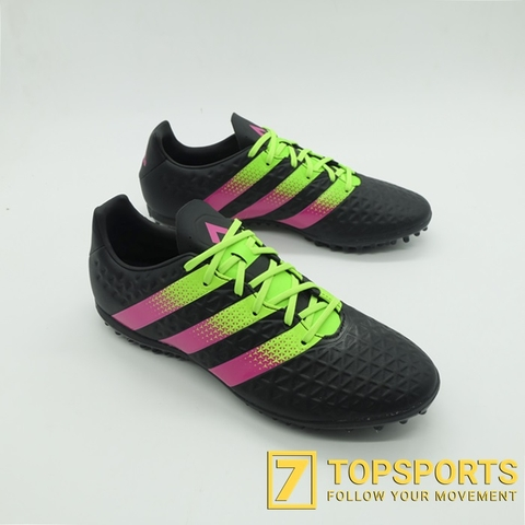 Adidas ACE 16.3 TF - Black/Pink/Green AF5259
