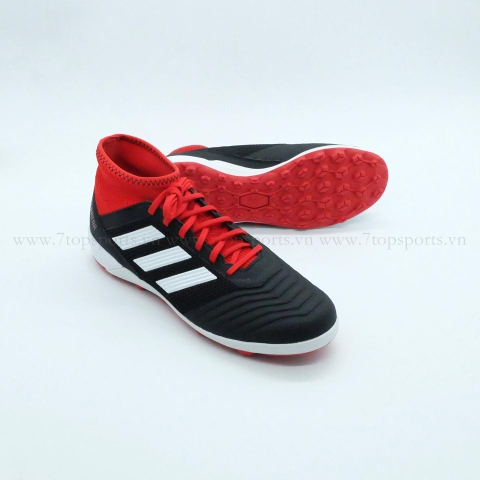Adidas Predator Tango 18.3 TF – Black/White/Red DB2135