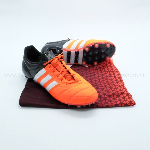 Adidas ACE 15.1 FG/AG Leather – Orange/Black/White B32820