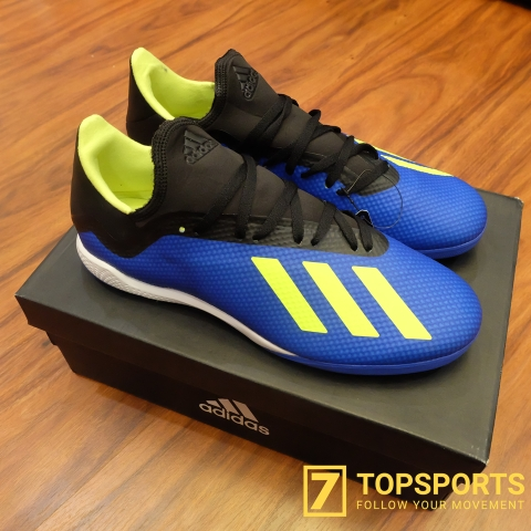 Adidas X Tango 18.3 TF – Blue/Yellow/Black DB1955