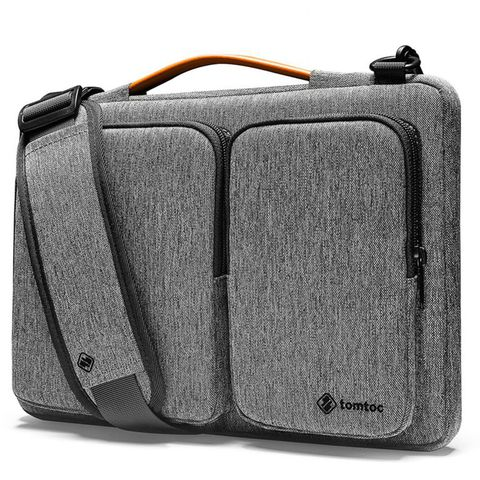 TÚI XÁCH TOMTOC SHOULDER BAG FOR ULTRABOOK 15″ GRAY(A51-E01G)