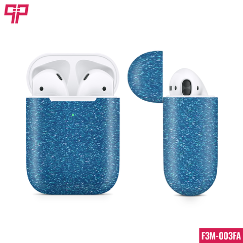 Skin 3M Airpod Blue Diamond