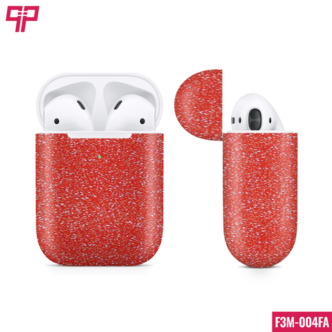 Skin 3M Airpod Red Diamond