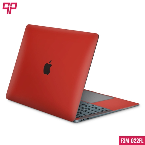 Skin 3M Laptop Matte Red
