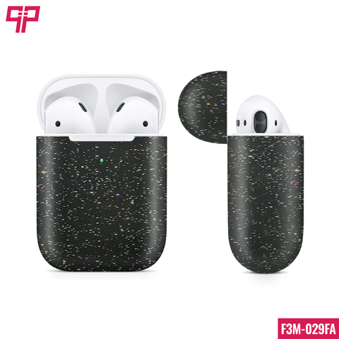 Skin 3M Airpod Gloss Galaxy Black