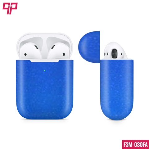 Skin 3M Airpod Gloss Blue Fire
