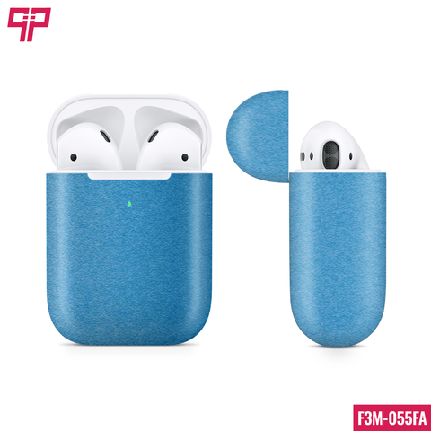 Skin 3M Airpod Matte Blue Metallic