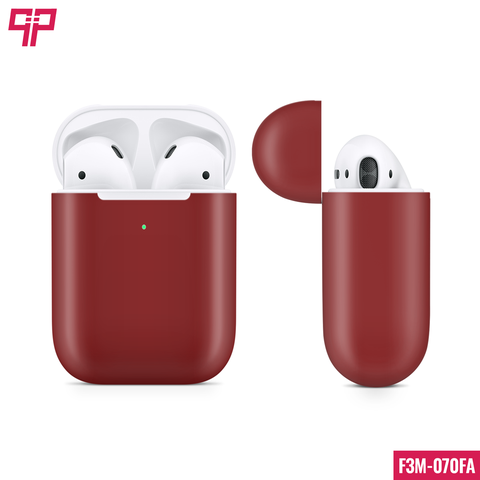 Skin 3M Airpod Satin Vampire Red