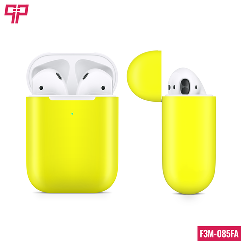 Skin 3M Airpod Satin Neon Yellow