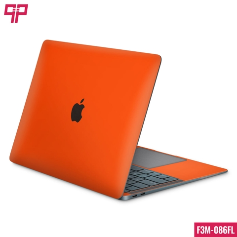 Skin 3M Laptop Satin Neon Orange