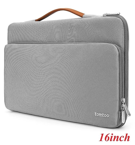 "TÚI XÁCH CS TOMTOC BRIEFCASE MACBOOK 16"" (gray) (A14-E02G)"