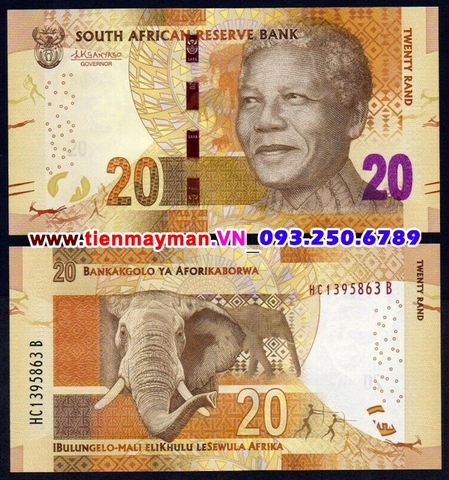 South Africa - Nam Phi 20 Rand 2012 UNC
