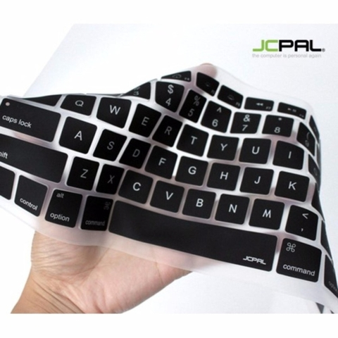 ✅ Phủ phím JCPAL Verskin U.S for New Macbook Pro - Black