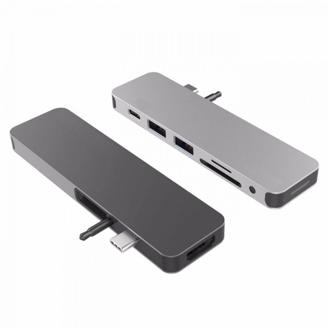 ✅ Cáp HyperDrive SOLO 7-in-1 USB-C Hub for MacBook PC