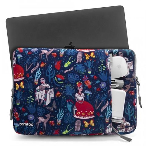 ✅ TÚI CHỐNG SỐC TOMTOC A13 (USA) 360° PROTECTIVE FOR LAPTOP, SURFACE, MACBOOK PRO 13.3' DAZZLING BLUE A13