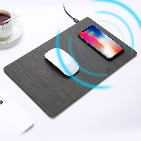 ✅ Wireless Fast Charging MousePad Qi 10W