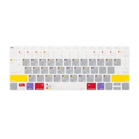✅ Phủ phím JCPAL Shortcut Macbook Air2018 (model A1932)