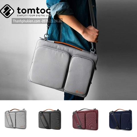 ✅ Túi đeo Tomtoc 360* Shoulder Bags Macbook 15/16'' - A42