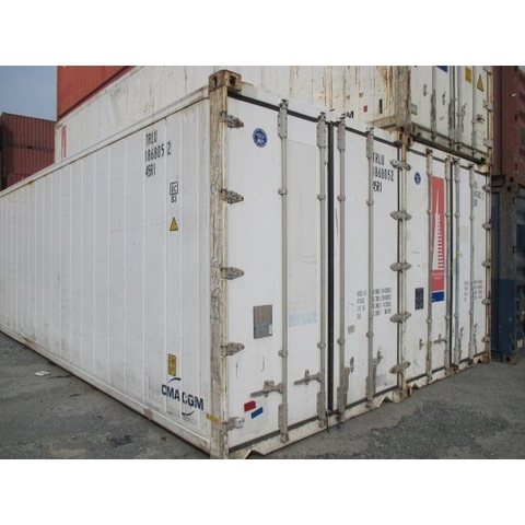 container cũ 40RF ( đã giao Depot G-Fortuner HPH)