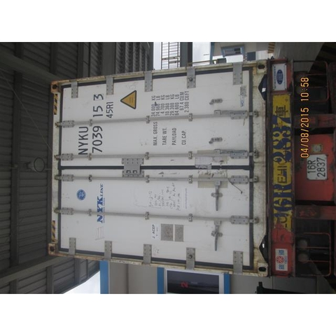 cont 40RF NYK 02units pti pass,