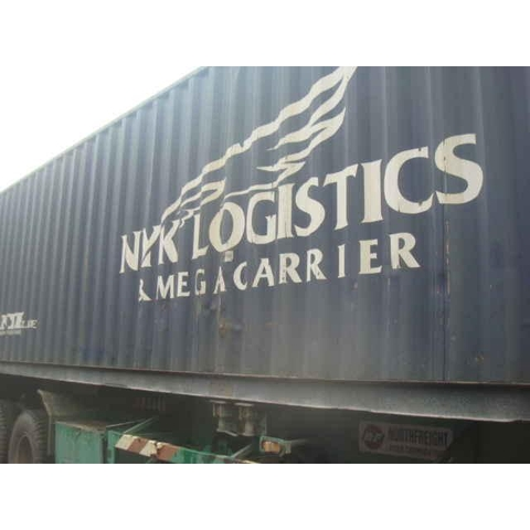 container NYK 40DC - Yom 2006